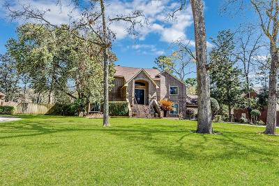 Conroe Single Family Home For Sale: 7 Woods Estates Drive