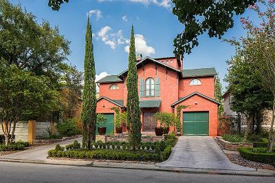 Houston TX Single Family Home For Sale: $1,920,000