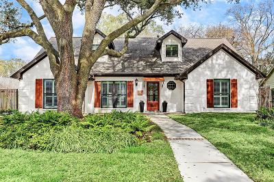 Houston Single Family Home For Sale: 10110 Chevy Chase Drive