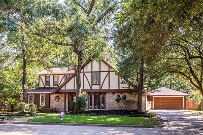Kingwood Single Family Home For Sale: 3110 Cedar Knolls Drive