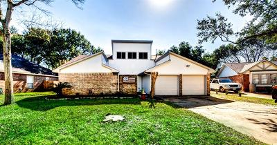 Houston Single Family Home For Sale: 15627 Thornbrook Drive