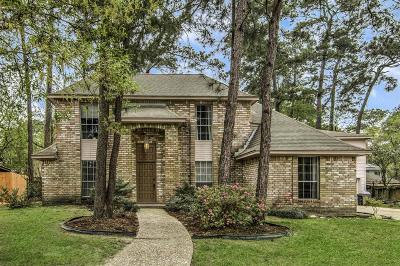 Kingwood Single Family Home For Sale: 2719 Wildridge Drive