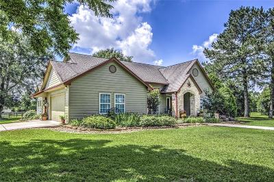 Hockley Single Family Home Option Pending: 23320 Hegar Road