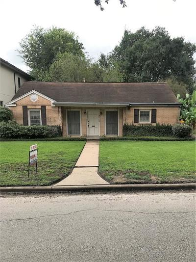 Bellaire Single Family Home For Sale: 4713 Holly Street