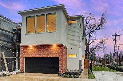 Houston Single Family Home For Sale: 3949 Tulane Street