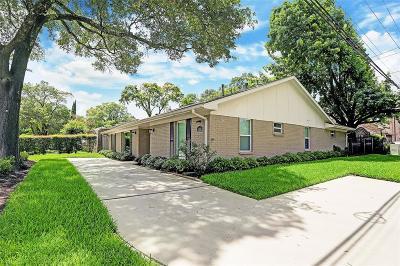 Briargrove Single Family Home For Sale: 6200 San Felipe Street