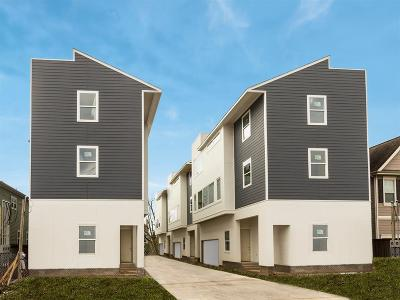 Houston Condo/Townhouse For Sale: 1418 W 26th Street #B