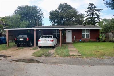 Navasota Single Family Home Pending: 617 White Street