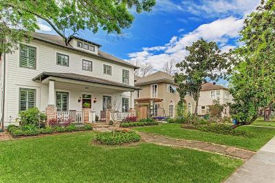 Houston Single Family Home For Sale: 1843 Harvard Street