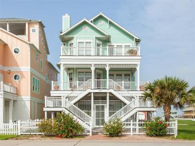 Galveston Single Family Home For Sale: 3830 Sea Urchin