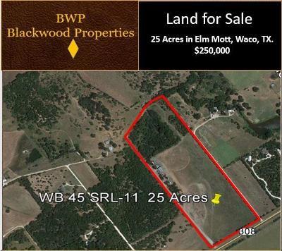 Waco Farm & Ranch For Sale: W Elm Mott Drive