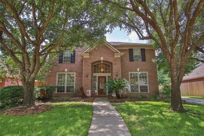 Tomball Single Family Home For Sale: 15919 Heron Trail