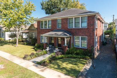 Houston Single Family Home For Sale: 536 Harvard Street