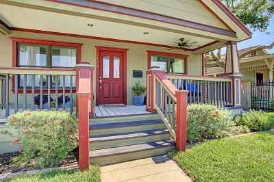 Houston Single Family Home For Sale: 1430 Studewood Street