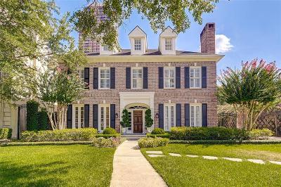 Houston Single Family Home For Sale: 5055 Fieldwood Drive