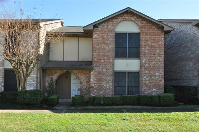 Houston Condo/Townhouse For Sale: 11549 Sabo Road #F