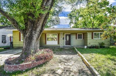 Houston TX Single Family Home For Sale: $109,999