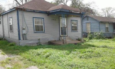 Houston Single Family Home For Sale: 3914 Caplin Street