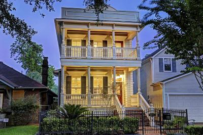 Houston Single Family Home For Sale: 616 1/2 E 12th Street