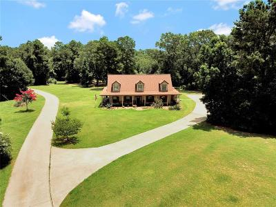 Montgomery Single Family Home For Sale: 23622 Sharp Road