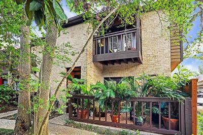 Houston Condo/Townhouse For Sale: 11711 Memorial Drive #99