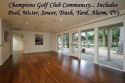 Houston Rental For Rent: 36 Champions Colony W