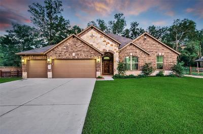 Conroe Single Family Home For Sale: 9183 White Tail Drive