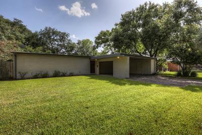 Houston Single Family Home For Sale: 5231 Carew Street