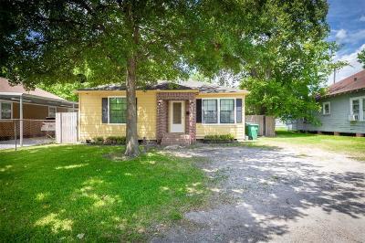 Houston Single Family Home For Sale: 4317 Beggs Street