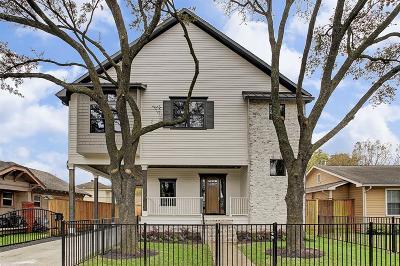 Houston Single Family Home For Sale: 1108 Usener