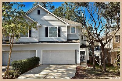 The Woodlands Condo/Townhouse For Sale: 75 Blue Creek Place