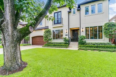 Bellaire Single Family Home For Sale: 5215 Maple Street
