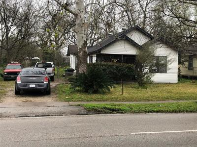 Houston Single Family Home For Sale: 4502 Lockwood Drive