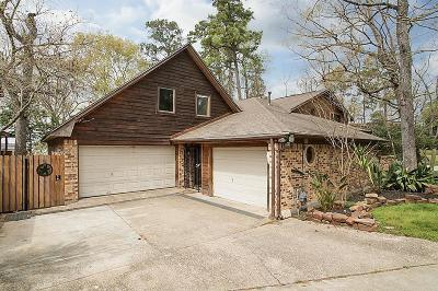 Crosby Single Family Home For Sale: 20543 Appaloosa Trail