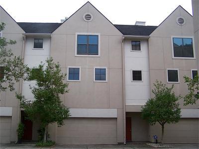 Houston Condo/Townhouse For Sale: 939 Colorado Street #2
