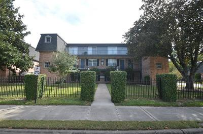 Houston Condo/Townhouse For Sale: 9019 Gaylord Drive #74C