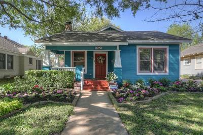 Houston Single Family Home For Sale: 727 W Temple Street