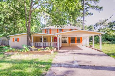 Trinity County Single Family Home Option Pending: 134 Armadillo Lane