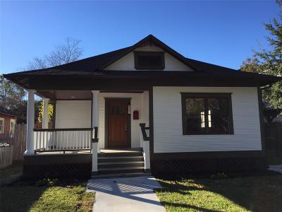 Houston Single Family Home For Sale: 1115 Arlington Street