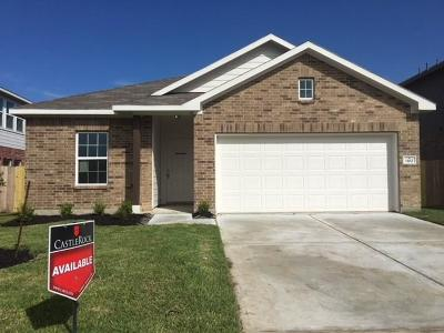 Alvin Single Family Home For Sale: 1102 Lasso Court