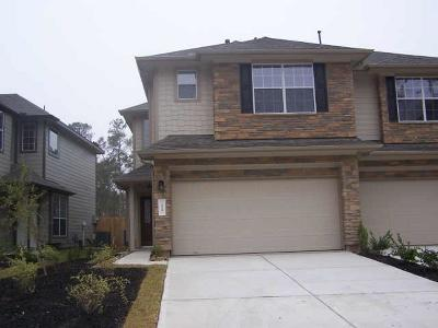 The Woodlands Condo/Townhouse For Sale: 219 Bloomhill Place