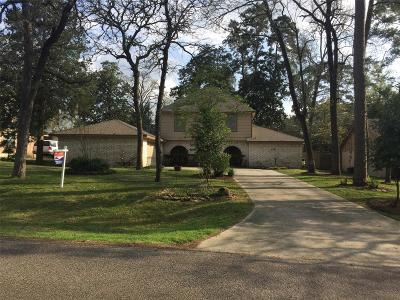 Conroe Single Family Home For Sale: 420 Brook Hollow Drive