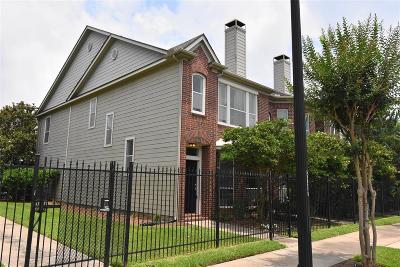 Houston Condo/Townhouse For Sale: 1417 Anita Street