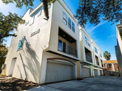 Montrose Single Family Home For Sale: 4506 Mount Vernon Street #B