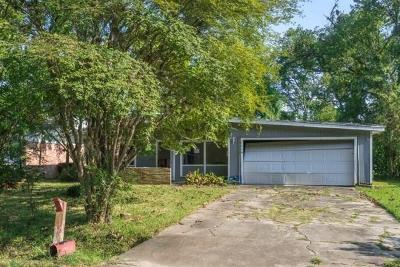 Houston TX Single Family Home For Sale: $60,500