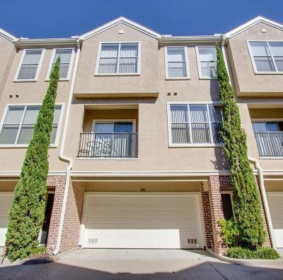 Houston Condo/Townhouse For Sale: 12707 Boheme Drive #308