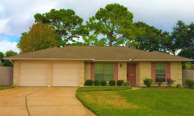 Pasadena Single Family Home For Sale: 4107 War Admiral Drive