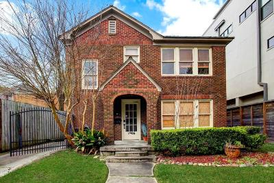 Houston Rental For Rent: 1906 Waugh