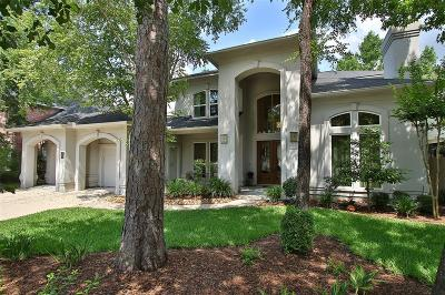 The Woodlands Single Family Home For Sale: 14 Graceful Elm Court