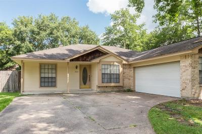 Kingwood Single Family Home For Sale: 2823 Parkwood Manor Drive